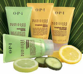 O.P.I manicure and Pedicure range